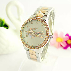 2016 Ladies' Crocodile Female Fashion Watches Diamond Shell Dial Luxury Fashion  Watch  (Assorted Color)
