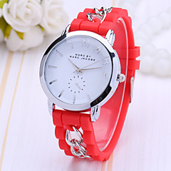 Women's Fashion Watch Color Plastic Jelly Watch Fashion Chains Cool Watches Unique Watches