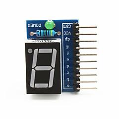 """1 cifra anodo comune 0.56 """"modulo display digitale per Raspberry Pi Arduino + - blu"""