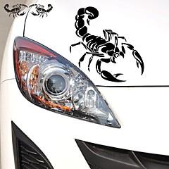 28*17CM Funny  The cartoon the scorpion king Car Sticker Car Window Wall Decal Car Styling (2pcs)