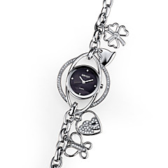 WEIQIN® Women's Fashion Bracelet Watches Heart Pendant Rhinestone Watches Gold Silver Quartz Wrist Watch Cool Watches Unique Watches