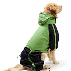 Cat / Dog Rain Coat / Sweatshirt Red / Blue Dog Clothes Summer / Spring/Fall Classic / Sport / Britsh Waterproof / Windproof Pething®