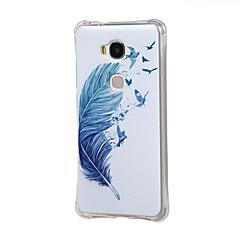 Mert Huawei tok Ütésálló Case Hátlap Case Toll Puha TPU Huawei Huawei S6 / Honor 4A / Huawei Honor 5X