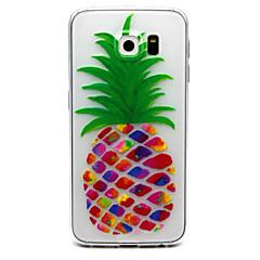 Na Samsung Galaxy S7 Edge Przezroczyste / Wytłaczany wzór Kılıf Etui na tył Kılıf Owoc TPU Samsung S7 edge / S7 / S6