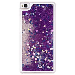 áramló folyadék futóhomok bling szikrázó csillagok tiszta kemény tok Huawei Ascend P8 lite (vegyes színek)