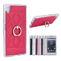 Mert Sony tok / Xperia Z5 Tartó gyűrű Case Hátlap Case Mértani formák Kemény Műbőr mert Sony Sony Xperia Z5 / Other