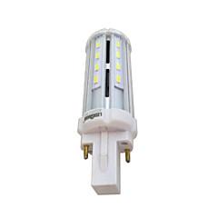 LEDUN  1PCS G24 8W 26SMD 5730 100LM LM Warm White / Natural White T Decorative Corn Bulbs AC 85-265