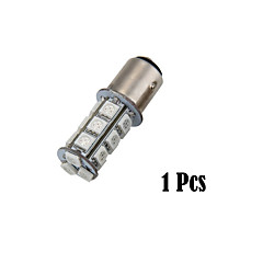 1157 SMD 5050 18 Red LED Car Brake Tail Rear Signal Stop Light Lamp Bulb(1 Pcs)