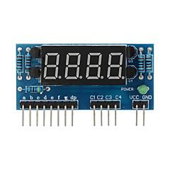 "4 cifre anodo comune 0,36 ""modulo display digitale per Raspberry Pi Arduino + - blu"