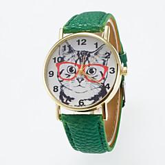 Hot Sale Leisure Cute Wristwatch Special dial Printing  Unisex Wristewatch Cool Watches Unique Watches