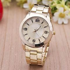 L.WEST Men's Fashion Steel Belt Quartz Watch Wrist Watch Cool Watch Unique Watch