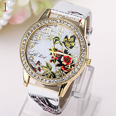 Women's Watch Fashion Women Watch Retro Pattern Colorful Butterfly Watch Cool Watches Unique Watches
