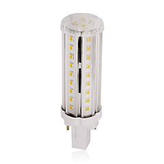 9W G24 Ampoules Maïs LED T 58 SMD 2835 100 lm Blanc Chaud Blanc Naturel Décorative AC 85-265 V 1 pièce