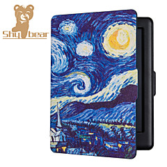 2015 New Ultra Magnetic Auto Sleep Slim Cover Case Hard Shell For Kobo Touch 2.0 Starry Sky 6.0 Inch