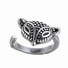 Fox Animal Retro Ring In Europe And The United States New Opening Ring