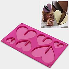 bageform Hjerte Til Kage Til Chokolade Til Slik Silikone Miljøvenlig Høj kvalitet Thanksgiving
