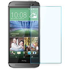 robbanásbiztos prémium edzett üveg filmvászon védőburkolat 0,3 mm edzett membrán ív HTC One (M8)