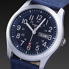 Hombre / Mujer / Unisex Reloj Deportivo Cuarzo Calendario / Resistente al Agua / Reloj Deportivo Tejido BandaNegro / Azul / Verde /