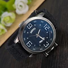 LZ Luxury Brand Bwin Vintage Denim Band Wristwatch Complete Calendar Sport Quartz Watch Men Watches Wrist Watch Cool Watch Unique Watch