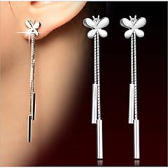 S925 Sterling Silver fringe Earrings