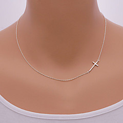 Necklace Pendant Necklaces Jewelry Daily / Casual Fashionable Alloy Gold / Silver 1pc Gift