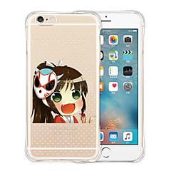 Daner fantasma fondello silicone trasparente morbida per iPhone 5 / 5s (colori assortiti)