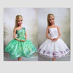 Barbie Doll Ballet Dresses 2 Pcs