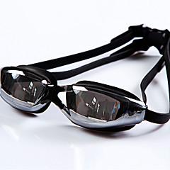 YUKE Úszás Goggles Női / Men's / Uniszex Páramentesítő / Vízálló / Állítható méret / UV-védő / Rövidlátás Szilícium-dioxid gél PCFekete /