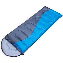 Sleeping Bag Rectangular Bag Single 10 Hollow Cotton 210X75 Hiking Camping Traveling Outdoor Waterproof Keep Warm