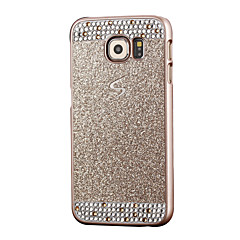 For Samsung Galaxy S7 Edge Rhinsten Etui Bagcover Etui Glitterskin PC for Samsung S7 edge S7 S6 edge S6 S5 S4 S3
