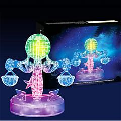 Jigsaw Puzzles 3D Puzzles / Crystal Puzzles Building Blocks DIY Toys 42pcs Plastic Transparent Model & Building Toy