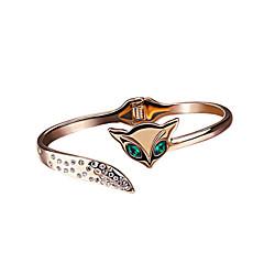 Alloy / Zircon Bracelet Cuff Bracelets Party / Daily / Casual 1pc
