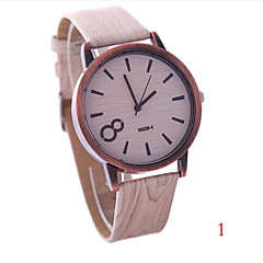 Women's Fashion Personality Wood Style Restoring Ancient Ways Quartz Watch