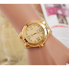 European and American men and women selling Swiss quartz watch fashion light alloy plate steel watches
