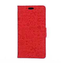 Voor Huawei hoesje / P9 / P9 Lite / P8 Lite / Mate 8 Portemonnee / Kaarthouder / met standaard hoesje Volledige behuizing hoesje Cartoon