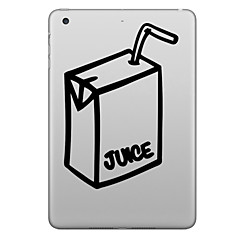 Hat-Prince Juice Box Pattern Removable Decorative Sticker for IPAD