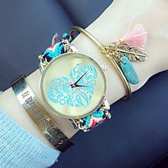 Women'S Watches Fashion Heart-shaped Woven Bracelet Watch Quartz Wristwatch Gift Idea Cool Watches Unique Watches