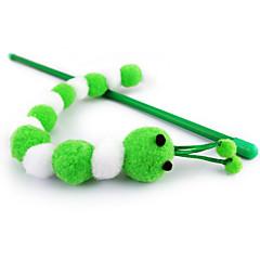 고양이 장난감 티저 곤충 플라스틱 화이트 / 로즈