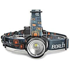 조명 헤드램프 LED 2000 루멘 3 모드 Cree XM-L T6 AA 조절가능한 초점 / 방수 / 충격 방지 / 스트라이크베젤 / 컴팩트 사이즈 / 전술적 인 / 응급 / 슈퍼 라이트 / 높은 전력 / 줌이 가능한캠핑/등산/동굴탐험 / 일상용
