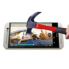 0,3 millimetri protezione dello schermo in vetro temperato con un panno in microfibra per htc uno M8 / M8 Mini / M9