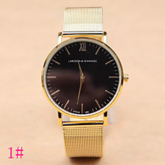 Heren / Dames / Uniseks Modieus horloge Kwarts Legering Band Zilver / Goud Merk-