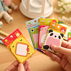 1PC Creative Cartoon Cute Animals Pad For  Post-It Note Student Notebook