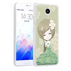 ximalong friss lány telefon shell festett domborművek alkalmazni mei zu m3 megjegyzés