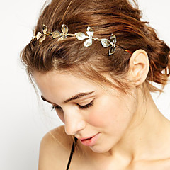 European leaves Alloy Headbands (1,2)(1 Pc)