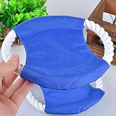 Zabawka dla psa Zabawki dla zwierząt Latające Dyski Lina Kolor losowy Tekstylny
