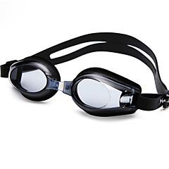 YUKE Okulary do pływania Damskie / Męskie / Dla obu płci Anti-Fog / Wodoodporny / Regulowany rozmiar / Anti-UV / Na krótkowzrocznośćŻel