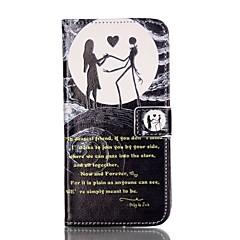 Mert Pénztárca Kártyatartó Állvánnyal Flip Minta Case Teljes védelem Case Rajzfilmfigura Kemény Műbőr mert AppleiPhone 7 Plus iPhone 7