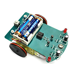 Intelligent Tracking Car kit D2-1 Line Patrol Car Parts DIY Electronic Production