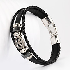 Jewelry Inspired by Cosplay Cosplay Anime Cosplay Accessories Bracelet Black / Brown Male / Female