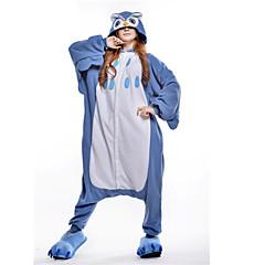 Kigurumi πιτζάμες νέα Cosplay® / Κουκουβάγια Φορμάκι/Ολόσωμη φόρμα Halloween ζώο Πυτζάμες Μπλε Patchwork Πολική Προβιά Kigurumi Γιούνισεξ